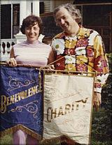 Photo of Charlie and Edie Seashore